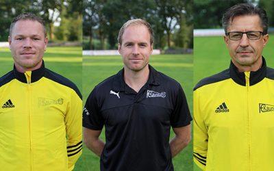 FC Kaunitz verlängert mit drei Trainern