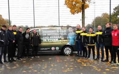 DFB-Mobil beim FC Kaunitz