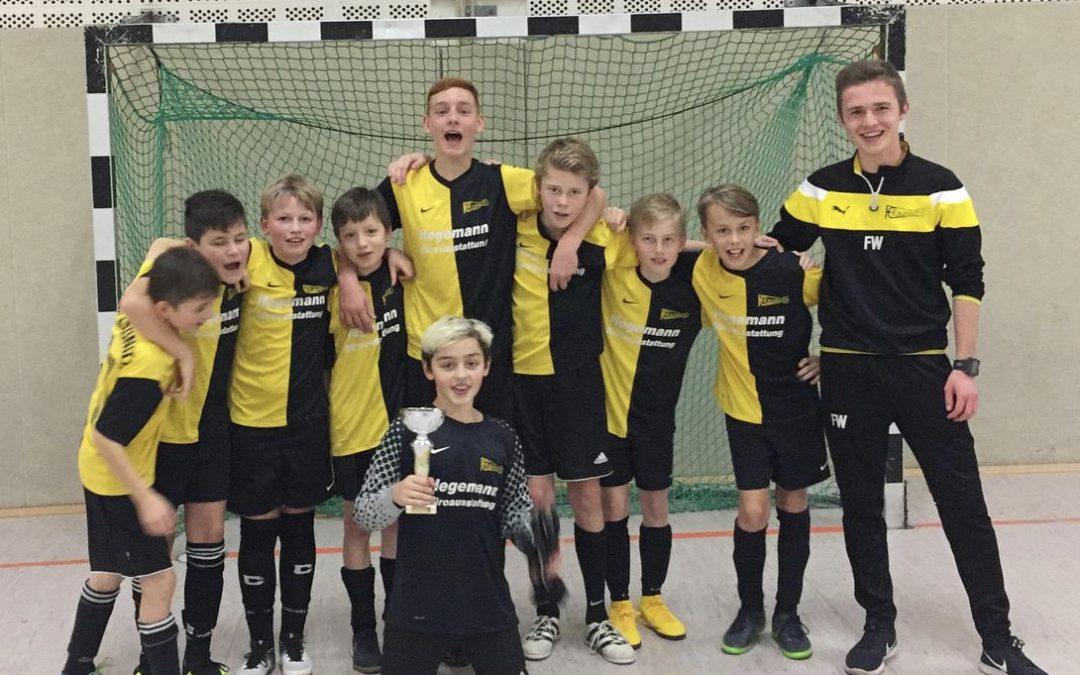 D-Jugend belegt 2. Platz in Detmold